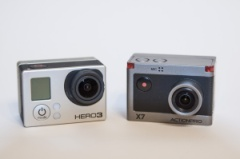 Actionpro X7 vs GoProHero3 Black Edition