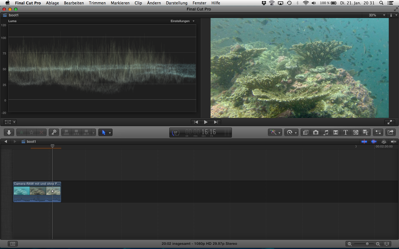 GoPro Protune Camera RAW - BLUEWAVEFILMS