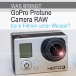 GoPro Protune Camera RAW
