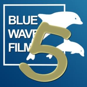 Bluewavefilms Logo 5 Jahre