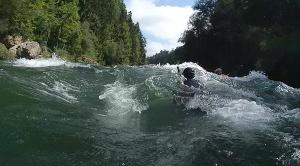 Wildwasser-Tour in der Traun